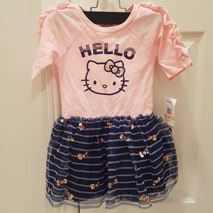 NWT Hello Kitty 2T girls dress